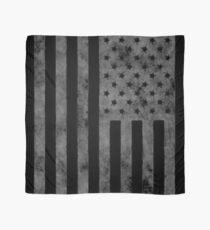 US Flag Grunge Style Scarf