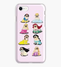 Pug Princesses Version 2 iPhone Case/Skin