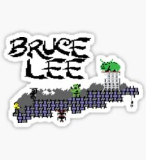 Gaming [C64] - Bruce Lee Sticker