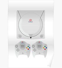 Dreamcast (white) Poster