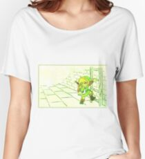 Legend of Zelda: Link's Dungeon Crawling Women's Relaxed Fit T-Shirt