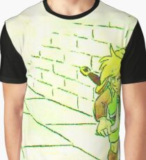 Legend of Zelda: Link's Dungeon Crawling Graphic T-Shirt