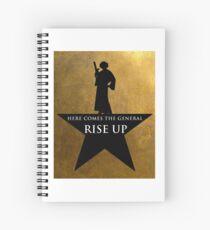 Star Wars Hamilton Mashup Spiral Notebook