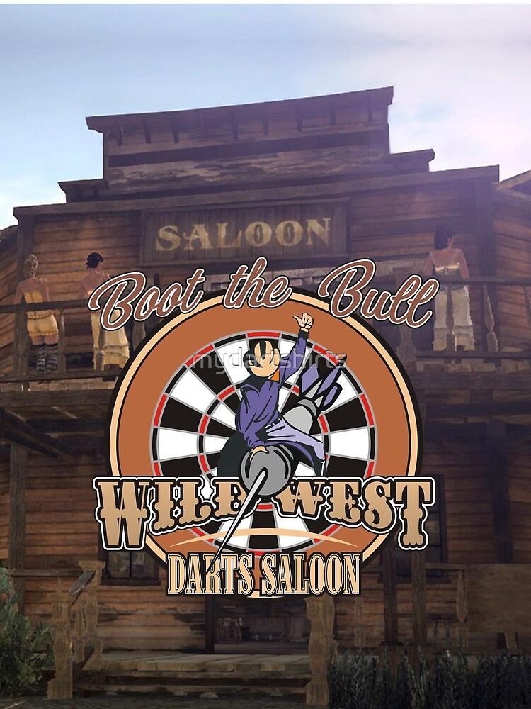 Wild West Darts Saloon Darts Shirt by mydartshirts