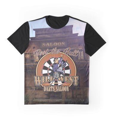 Wild West Darts Saloon Darts Shirt