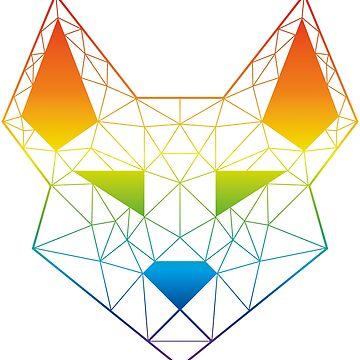 """Geometric Canine - """"Prism"""" by GeometricFR"""