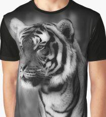 sebirian tiger, tiger black and white Graphic T-Shirt