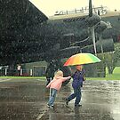 Fun in the Rain. by Billlee