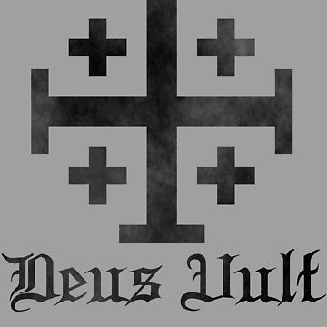 Crusader Cross - Deus Vult - Worn by EvaEV