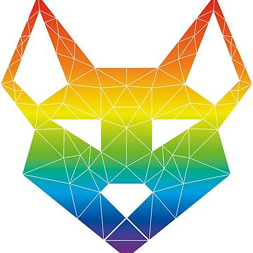 """Geometric Canine - """"Prism"""" Inverted by GeometricFR"""