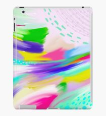 Colorful Abstract Painting iPad Case/Skin