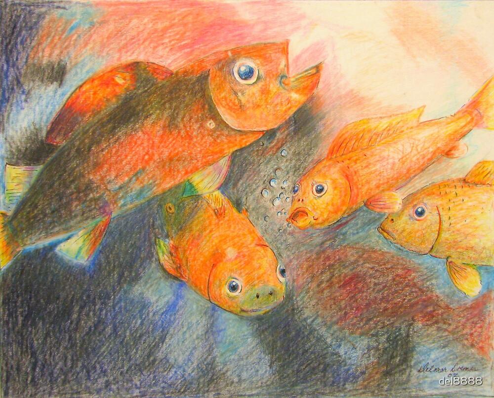 Little swimmers by del8888