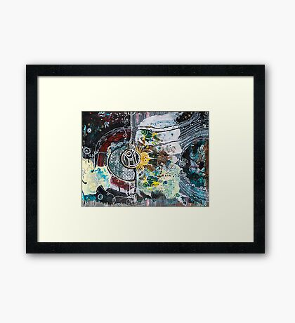 Out of the Ether Framed Print