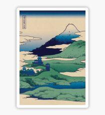 Doctor Who Mount Fuji - Mont Fuji - Tardis Sticker