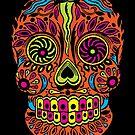 Calavera - Sugar Skull - Calexico  by merioris