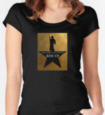 Star Wars Hamilton Mashup Women's Fitted Scoop T-Shirt