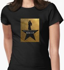 Star Wars Hamilton Mashup Womens Fitted T-Shirt