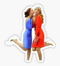 Blair and Serena Sticker