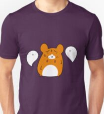 Scared Hamster and Ghosts Unisex T-Shirt