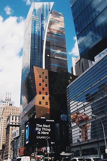 New York buildings  by alyssaschi