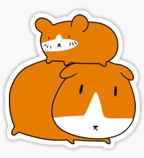 Hamster and Guinea Pig Sticker