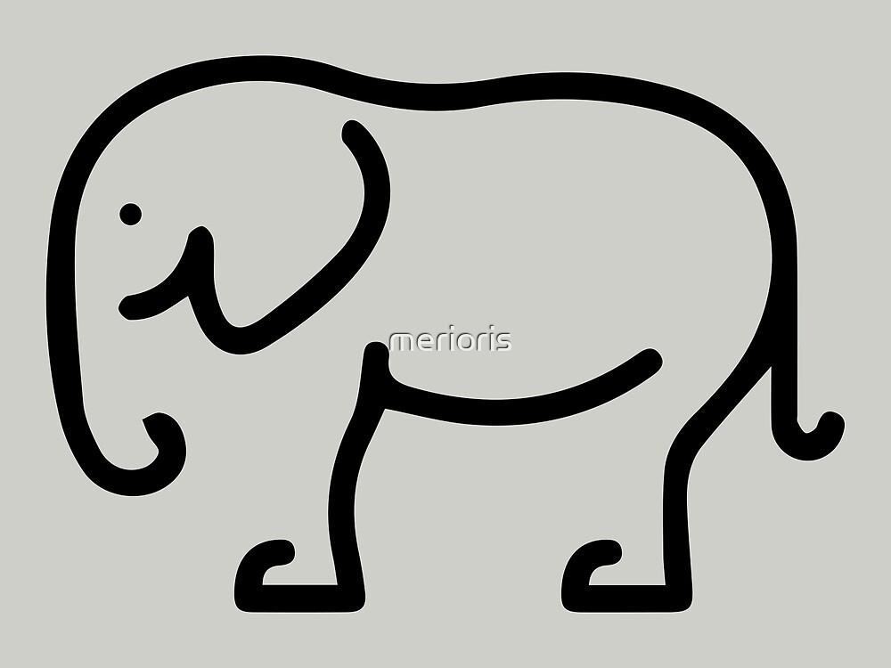 Elephant by merioris