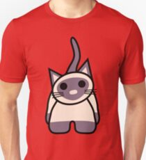 MoMo the Kitty Slim Fit T-Shirt