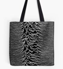 Unknown Pleasures - Joy Division Tote Bag