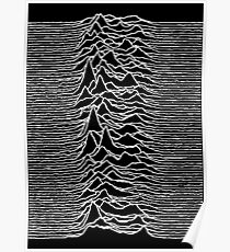 Unknown Pleasures - Joy Division Poster
