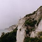 Eastbourne chalk cliff by Kayleigh Sparks