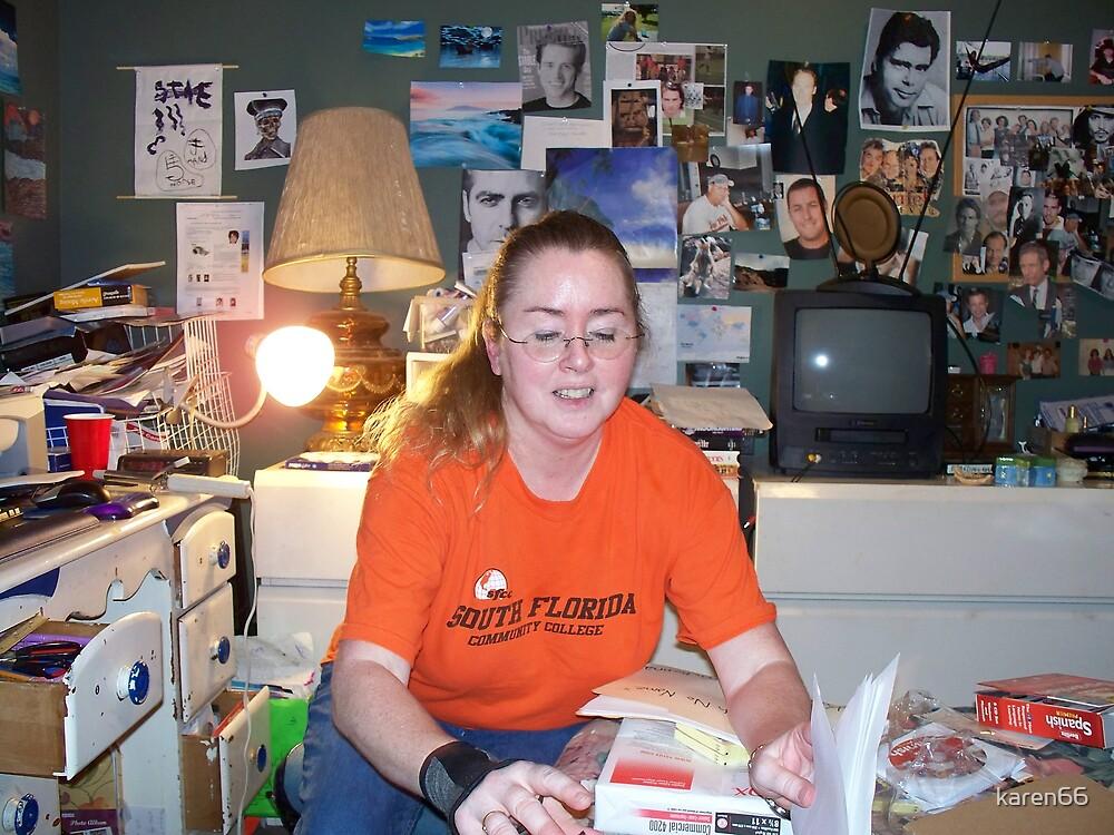 Karyn is Working! by karen66