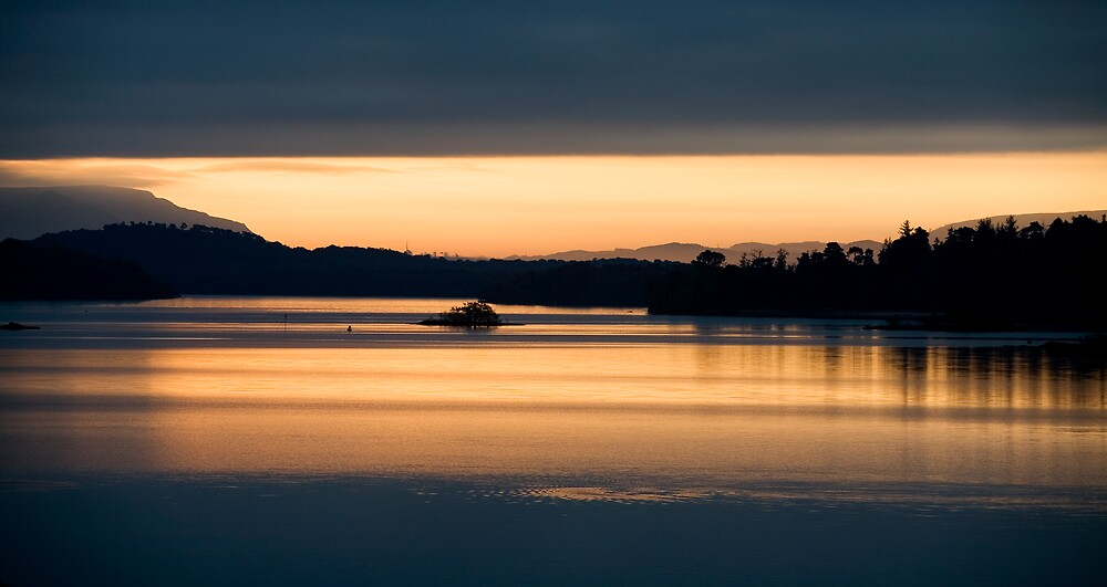 Sunrise Loch Lomond, Scotland by Ramona Farrelly