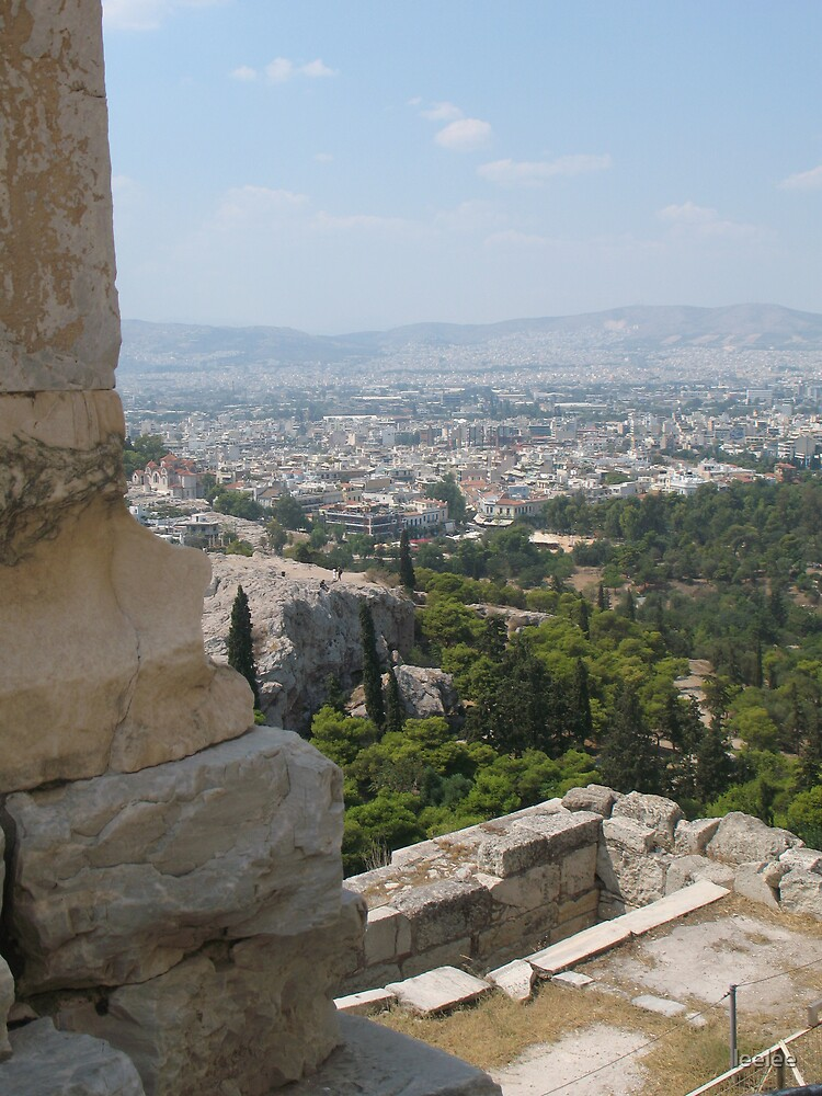View over Athens by leelee