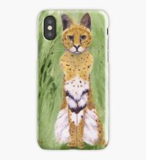 Serval Cat iPhone Case/Skin