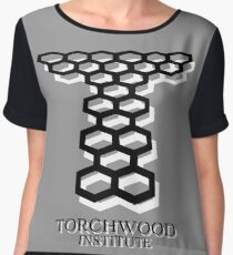 Torchwood Women's Chiffon Top