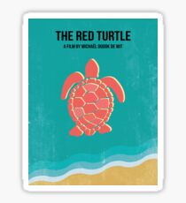 The Red Turtle Sticker