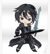 Kirito Sword art online Poster
