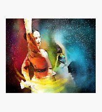 Flamencoscape 08 Photographic Print