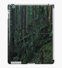 Mossy Forest, Fallen Tree iPad Case/Skin
