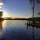 Mallachie sunset by Ranald