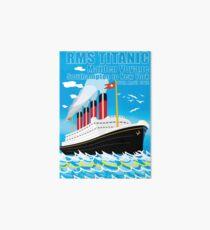 RMS TITANIC Art Board