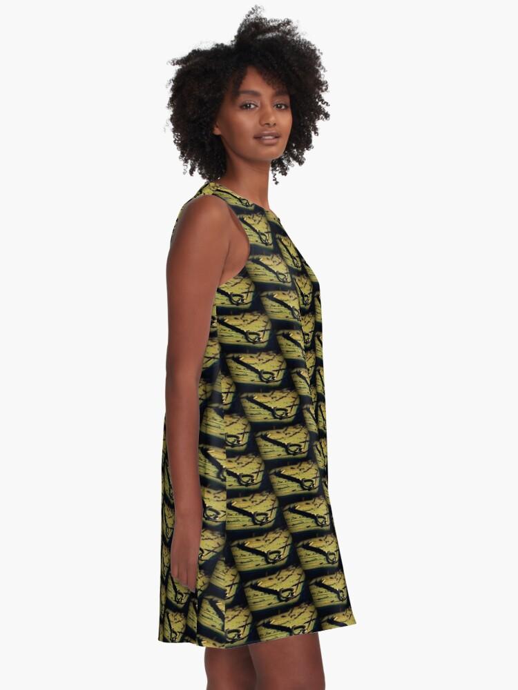 Alternative Ansicht von Der Schlüssel A-Linien Kleid