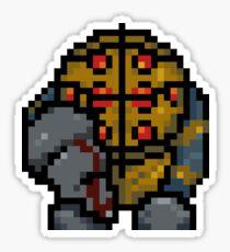 Mr. Pixels Sticker