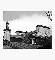 Roofs of Rathmullen House, Donegal, Ireland Photographic Print
