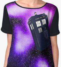 Tardis and the Nebula Chiffon Top
