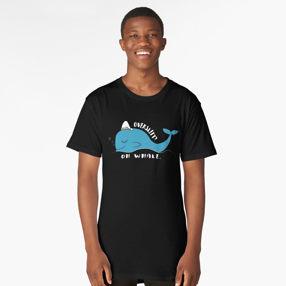 Gracie Whale  Long T-Shirt Front