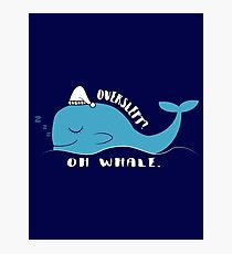 Gracie Whale  Photographic Print