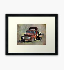 Old Trucks Framed Print