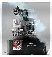Kendrick Lamar studio album discography Poster