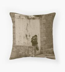 old gaol! Throw Pillow